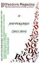 Libro de Especial Ii Aniversario Pandora Magazine