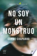 Libro de No Soy Un Monstruo
