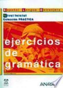 Libro de Ejercicios De Gramática
