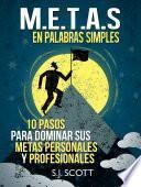 Libro de Metas  Smart  En Palabras Simples
