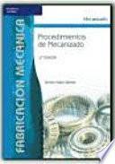 Libro de Procedimientos De Mecanizado