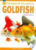 Libro de Cincuenta Consejos De Oro Para Tu Goldfish