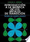 Libro de Introducción A La Química De Los Metales De Transición