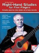 Libro de Right Hand Studies For Five Fingers
