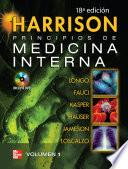 Libro de Harrison: Principios De Medicina Interna (18a. Ed.)
