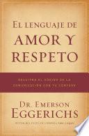 Libro de El Lenguaje De Amor Y Respeto
