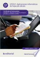 Libro de Aplicaciones Informáticas De Hojas De Cálculo. Adgn0210