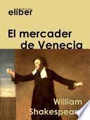 Libro de El Mercader De Venecia