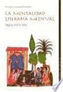 Libro de La Mentalidad Literaria Medieval