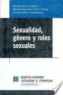 Libro de Sexualidad, Género Y Roles Sexuales