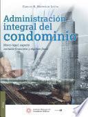 Libro de Administración Integral Del Condominio