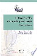 Libro de El Tercer Sector En España Y En Europa