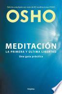 Libro de Meditación (edición Ampliada Con Más De 80 Meditaciones Osho)
