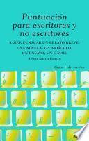 Libro de Puntuación Para Escritores Y No Escritores