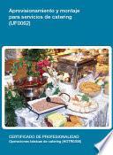 Libro de Uf0062   Aprovisionamiento Y Montaje Para Servicio De Catering