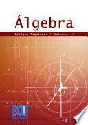 Libro de Álgebra. Vol. I