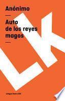 Libro de Auto De Los Reyes Magos