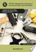 Libro de Montaje De Conjuntos Y Estructuras Fijas O Desmontables. Fmee0108