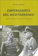 Libro de Emperadores Del Mediterráneo