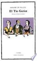 Libro de El Tío Goriot