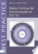 Libro de Mejora Continua Del Servicio Basada En Itil®