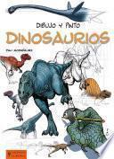 Libro de Dibujo Y Pinto Dinosaurios