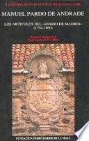Libro de Los Artículos Del  Diario De Madrid  (1794 1800)
