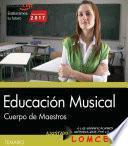 Libro de Cuerpo De Maestros. Educación Musical. Temario