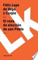 Libro de El Vaso De Elección De San Pablo