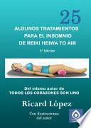 Libro de Algunos Tratamientos Para El Insomnio De Reiki Heiwa To Ai ®