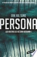 Libro de Persona (los Rostros De Victoria Bergman 1)