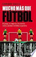 Libro de Mucho Más Que Fútbol