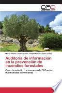 Libro de Auditoría De Información En La Prevención De Incendios Forestales