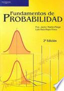 Libro de Fundamentos De Probabilidad
