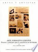 Libro de Arte Normativo Español