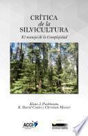 Libro de Crítica De La Silvicultura