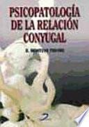 Libro de Psicopatología De La Relación Conyugal
