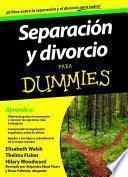 Libro de Separación Y Divorcio Para Dummies
