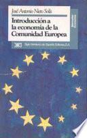 Libro de Introducción A La Economía De La Comunidad Europea