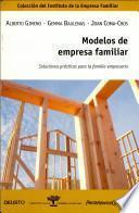 Libro de Modelos De Empresa Familiar