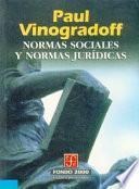 Libro de Normas Sociales Y Normas Juridicas