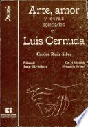 Libro de Arte, Amor Y Otras Soledades En Luis Cernuda