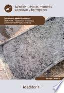 Libro de Pastas, Morteros, Adhesivos Y Hormigones. Eocb0208