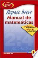 Libro de Quick Review Math Handbook
