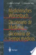 Libro de Medizinisches Wörterbuch / Diccionario De Medicina / Dicionário De Termos Médicos
