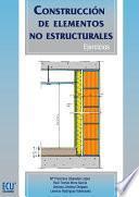 Libro de Construcción De Elementos No Estructurales. Ejercicios