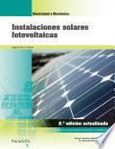 Libro de Instalaciones Solares Fotovoltaicas 2ª Edición 2018