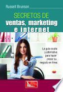 Libro de Secretos De Ventas Marketing E Internet