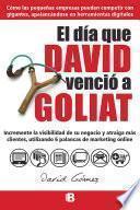 Libro de El Día Que David Venció A Goliat