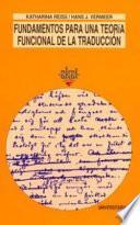 Libro de Fundamentos Para Una Teoría Funcional De La Traducción